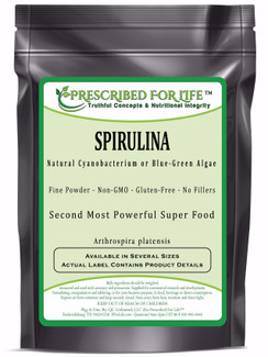 Spirulina - Natural Cyanobacterium Blue-Green Algae Powder (Arthrospira platensis)