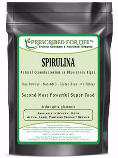 Spirulina - Natural Cyanobacterium Blue-Green Algae Powder (Arthrospira platensis)