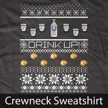 Vodka Ugly Christmas Sweater