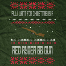 Red Ryder BB Gun Sweater