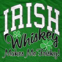 Irish Whiskey Frisky T-Shirt