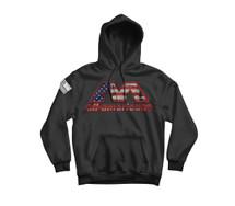 AA USA Flag Logo Hoodie