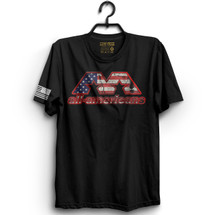 AA USA Flag Logo T-Shirt