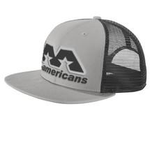AA Flat-Brimmed Cap - Silver