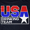 Team USA Drinking Team TShirt