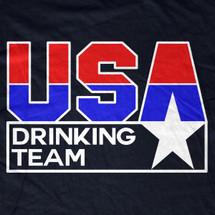 Team USA Drinking Team TShirt