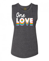 Gypsy Love One Love Pride Collection Festival Muscle Tank