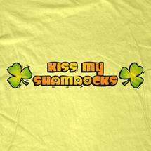 Kiss My Shamrocks Women's T-Shirt