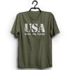 USA Born and Raised T-Shirt