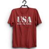 USA Born and Raised Tee