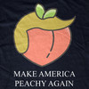 Impeach Trump   Make America Peachy Again tee