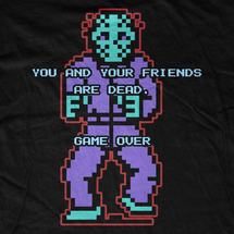 Jason Voorhees NES Game Over T-Shirt