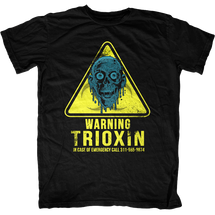 Warning Trioxin Return of the Living Dead T-Shirt