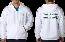 A.N.N.A. Men/Womens Unisex Zip-Up Hoodies