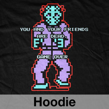 Jason Voorhees NES Game Over Hoodie