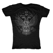 Byzantine Eagle Womens T-Shirt