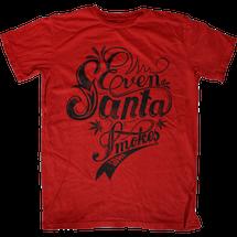 Even Santa Smokes Some T-Shirt