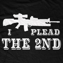I Plead The 2nd T-Shirt
