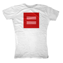 Equal Rights Symbol Womens T-Shirt