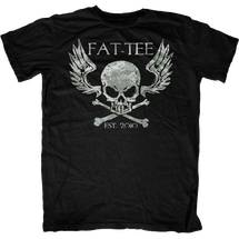 Digi Camo Winged Skull and Crossbones T-Shirt