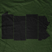 PA Black Flag Bars T-Shirt