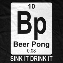 Beer Pong Element T-Shirt