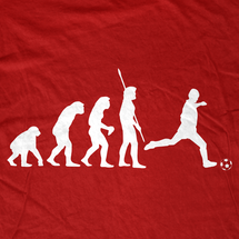 Evolution of World Soccer Cup T-Shirt