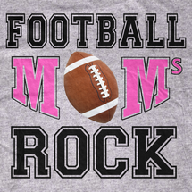 Football Moms Rock! T-Shirt