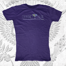 Cocktails & Color Spangle T-Shirts