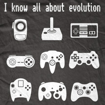 Video Game Evolution T-Shirt