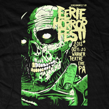 Erie Horror Fest 2013 Event T-Shirt