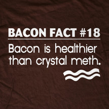 Bacon Fact #18 T-Shirt