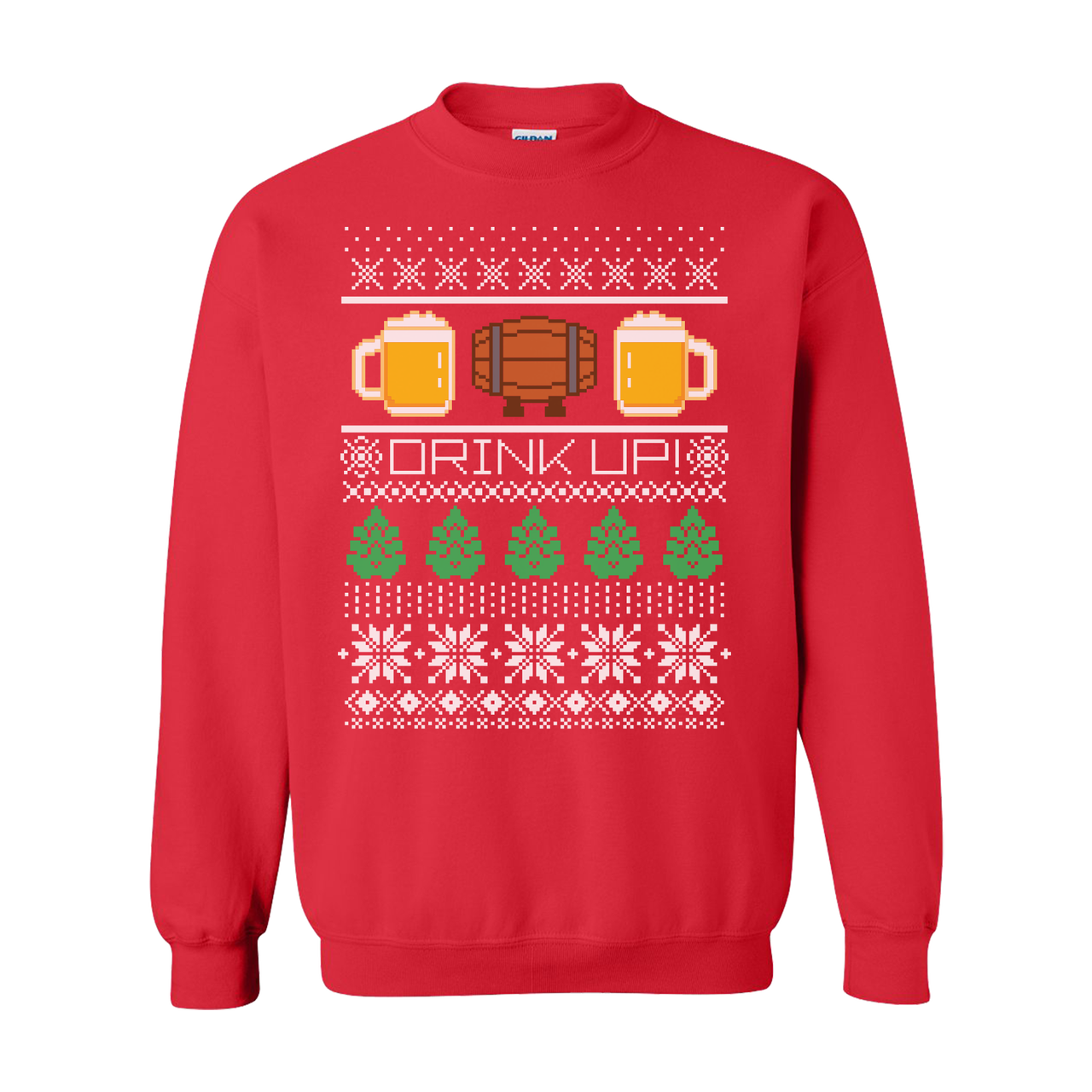 Ugly Christmas Sweaters.Beer Ugly Christmas Sweater