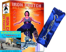 Iron Crotch Package/ Includes training tools / 強陽鐵襠功(陰吊功教學帶)