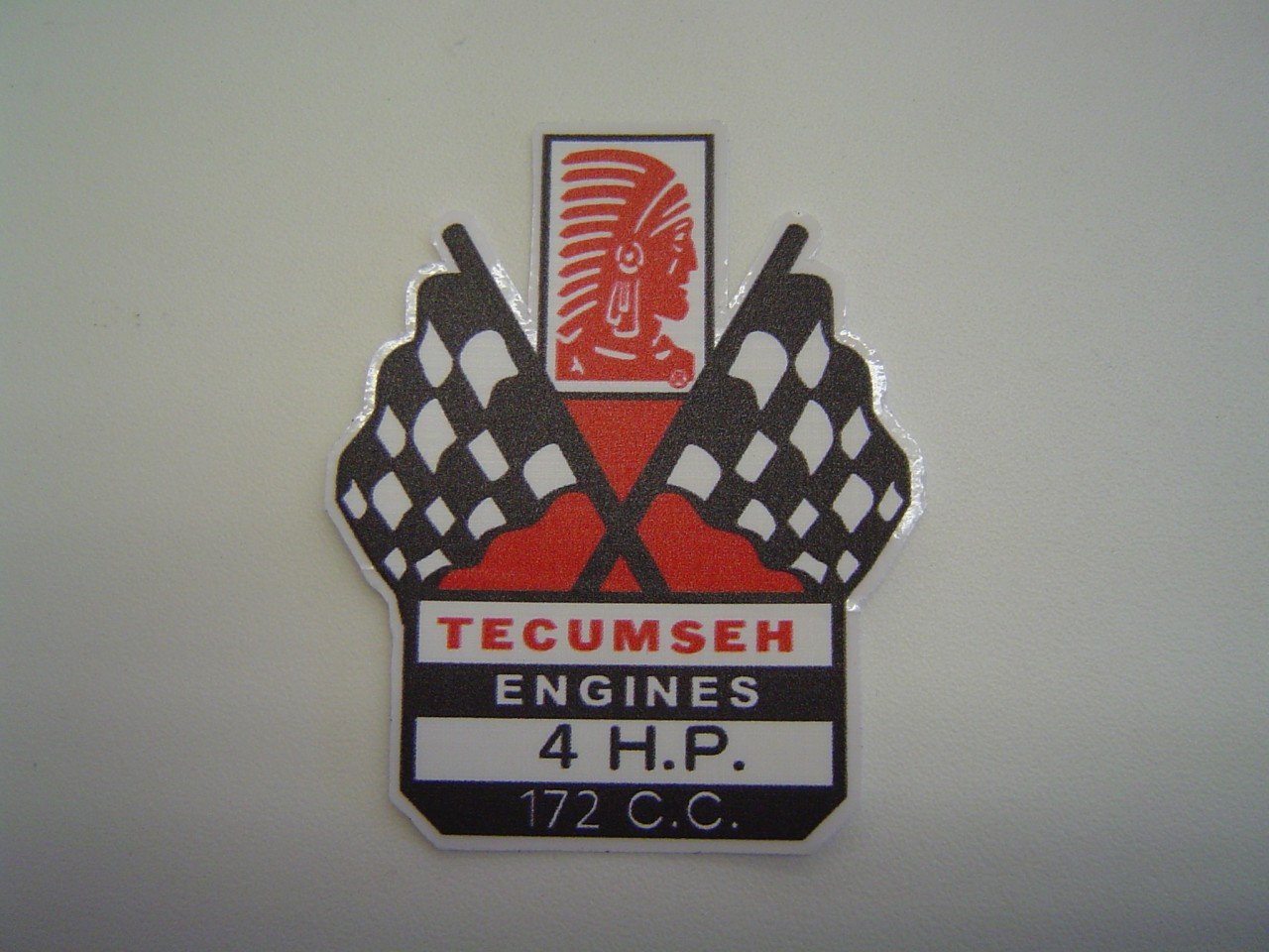 New Old Style Tecumseh 4HP Decal Sticker