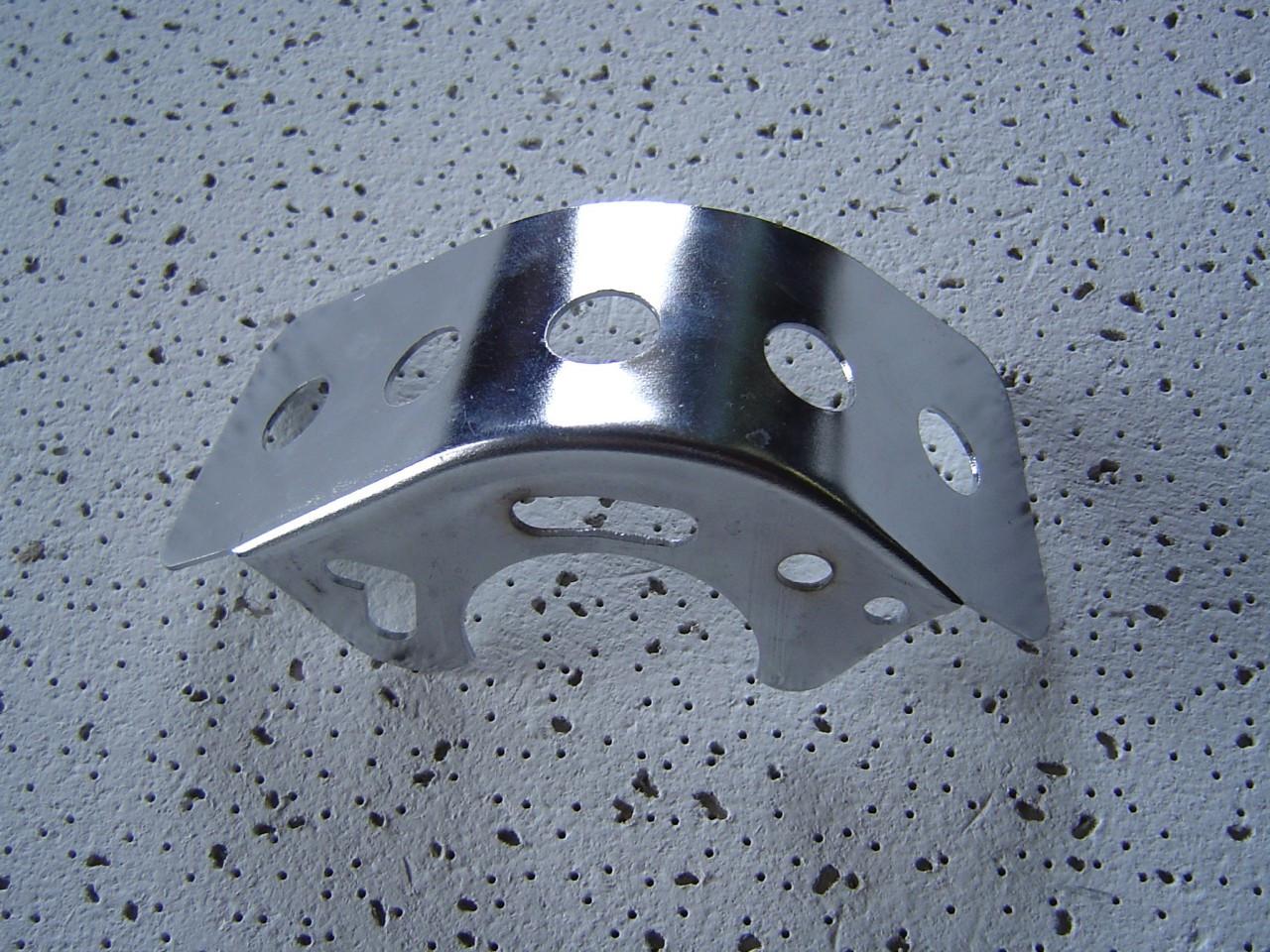 Universal Chrome Clutch Guard Chain Deflector Old