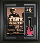 Toby Keith Mini Guitar