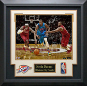 Kevin Durant Autographed Breakaway Photo