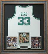 Larry Bird Signed Boston Celtics Jersey