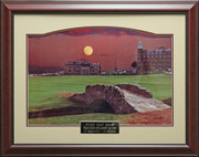 Moon Over St. Andrews Signed Photo