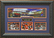 Peyton Manning Mile High Stadium Photo Display