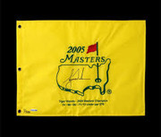 Tiger Woods Signed Masters Flag