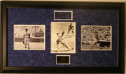 Sandy Koufax Autographed 8x10 Photo Framed W/2 additional Photos