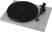 ProJect Debut Carbon Turntable with Ortofon 2M Red- Gloss Silver