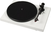 ProJect Debut Carbon Turntable with Ortofon 2M Red- Gloss White