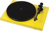 ProJect Debut Carbon Turntable with Ortofon 2M Red- Gloss Yellow