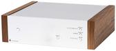 Project Phono Box DS2 Preamplifier Silver/Walnut