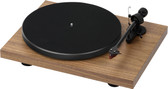 Pro-Ject Debut Carbon Turntable in Walnut with Ortofon 2M Red Cartridge