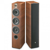 Focal Chorus 726 V Floorstanding Speakers in Walnut
