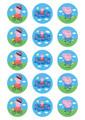 Peppa Pig - Standard licensed cupcakes
